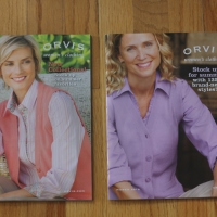 Biscuit is featured as a centerfold in the Orvis Women's Clothing catalog!