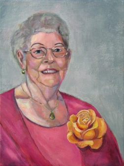 Grandma Rose Painting