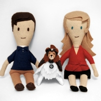 Our Little Felt Family!