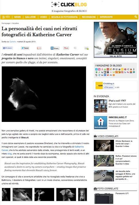 Blog Click Screen Shot 2