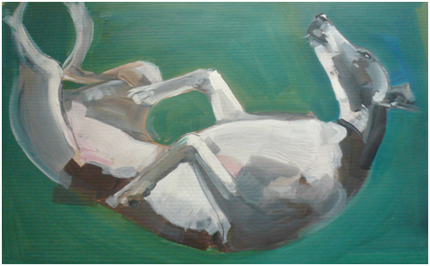 Rolling_Whippet_by_Sally_Muir_at_Stockbridge_Gallery_Dogs_in_Art__25921.1303492991.1280.1280
