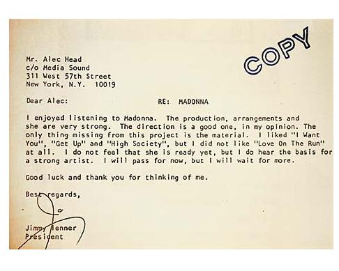 rejection letter 1
