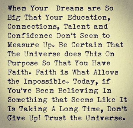 trust-the-universe