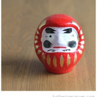 Keeping an Eye on Your Dreams: Daruma Doll